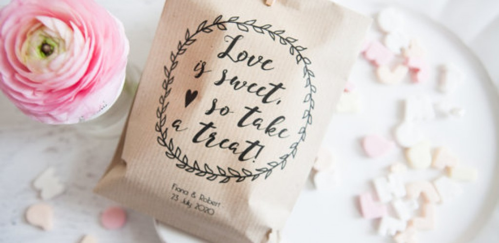Wedding favours for every budget