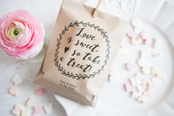 Love is sweet wedding favour | realwedding.co.uk