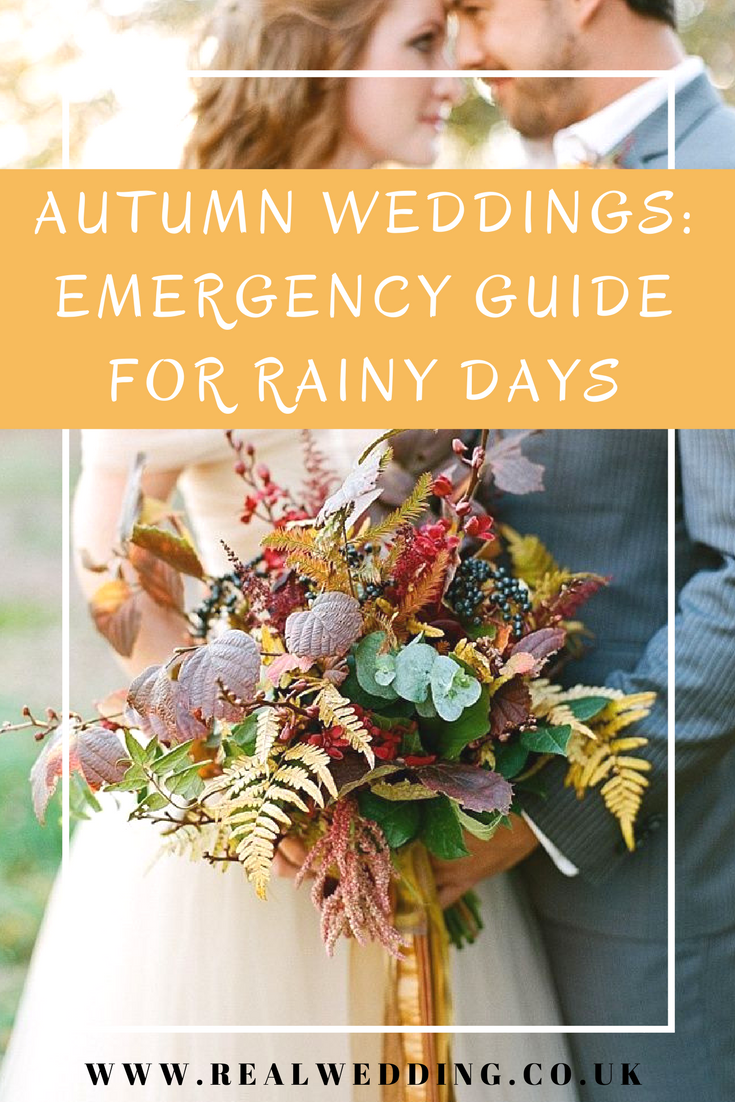 Autumn Weddings Emergency Guide For Rainy Days | | RealWedding.co.uk