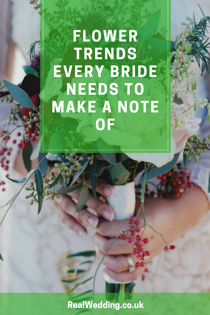 Flower Trends Every Bride Needs To Make A Note Of