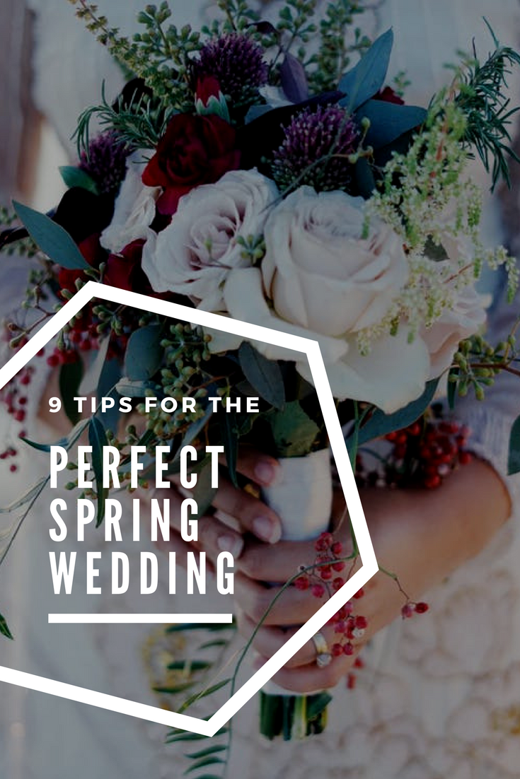 9 Tips for the perfect spring wedding