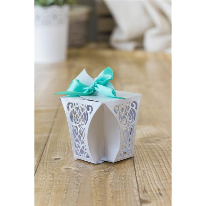 DIY  & Handmade Wedding Favour Ideas l Gemini Dimensionals Box Making Die - Favour Box
