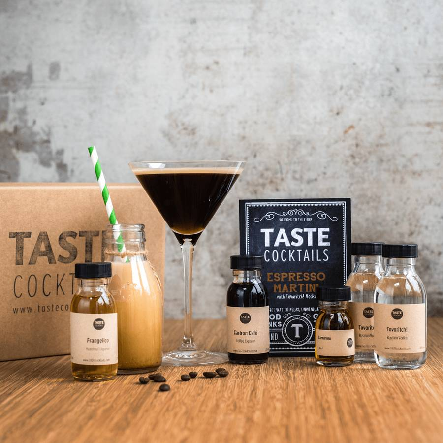 DIY  & Handmade Wedding Favour Ideas Espresso Martini Cocktail Kit