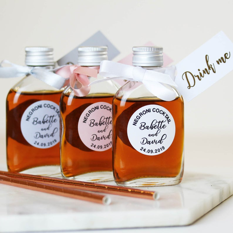 DIY  & Handmade Wedding Favour Ideas l Make Your Own Wedding Cocktails