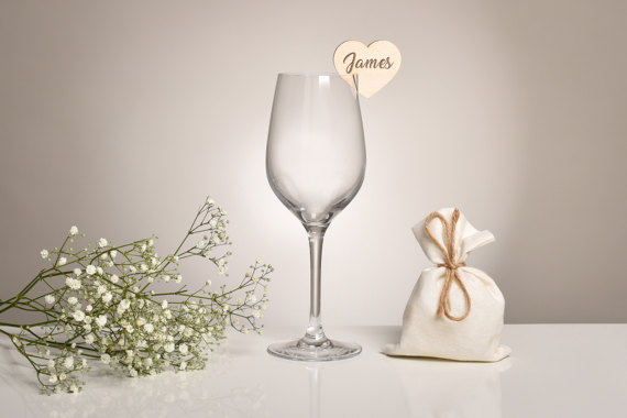 Wedding Glass Charm
