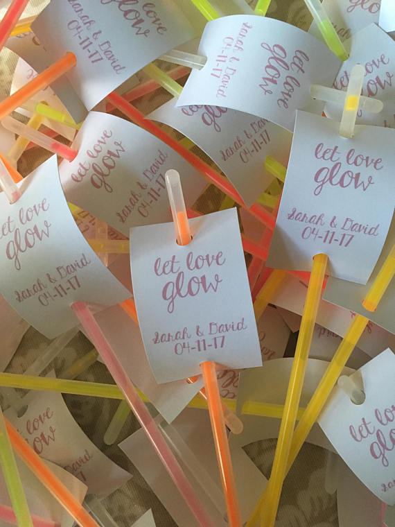 Let Love Glow, Tags and Glowsticks.c