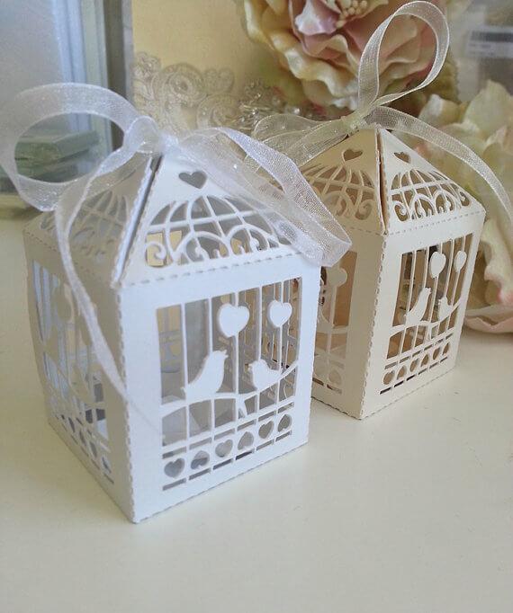 Birdcage Wedding Favour Boxc