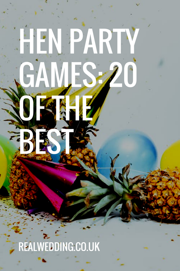 hen party games: 20 of the best