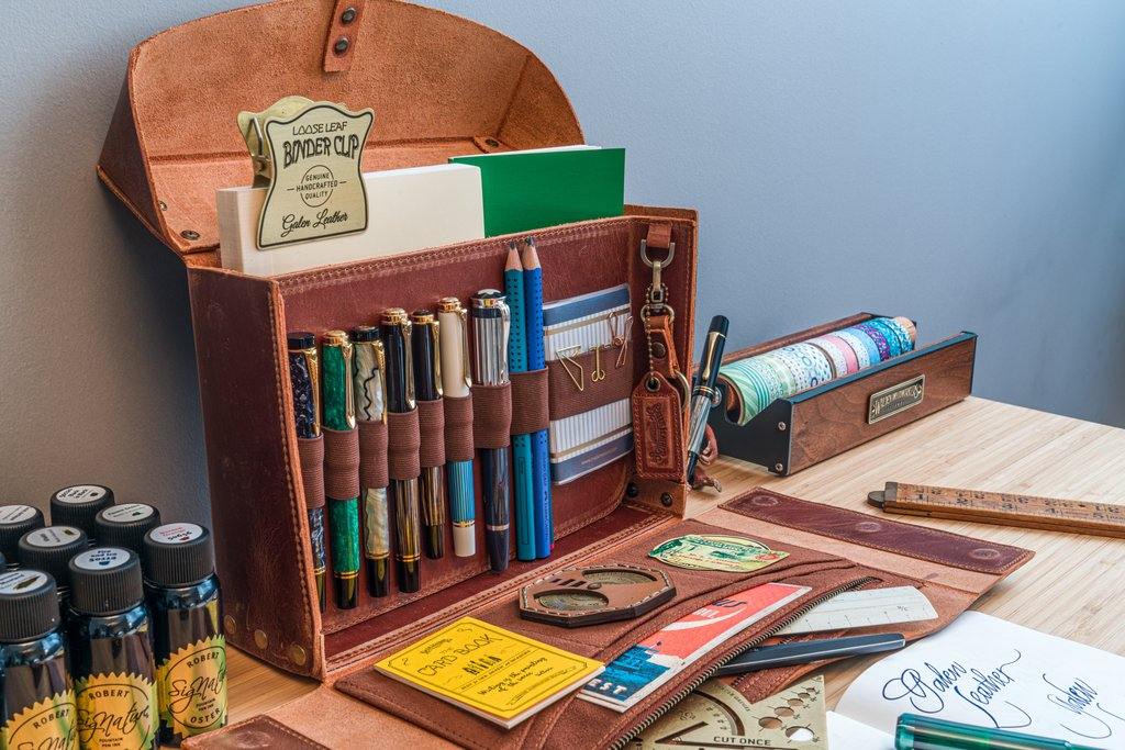 Writer's Medic Bag by Galen Leather