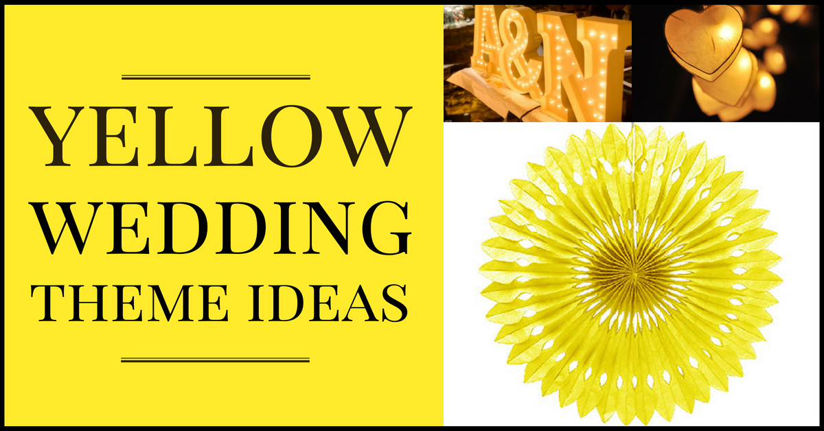 56 Of The Hottest Yellow Wedding Theme Ideas Real Wedding