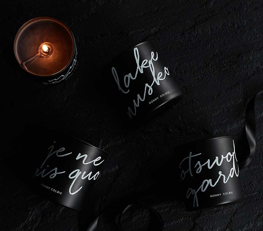 Luxury Candles By Ronny Colbie
