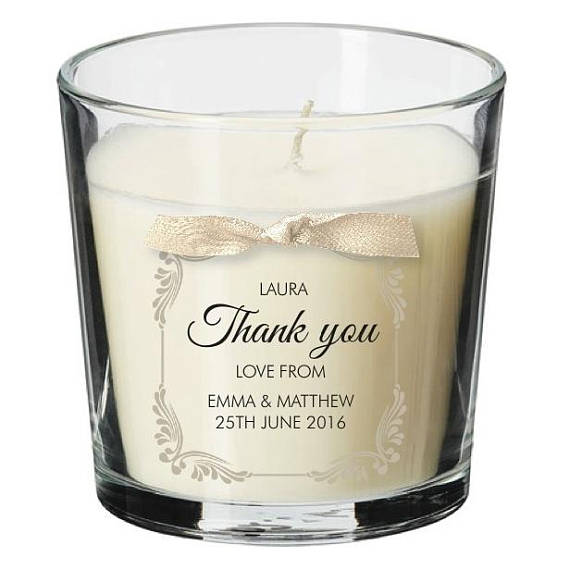 Wedding Table Centrepiece Candle