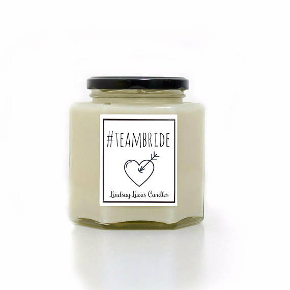 Team Bride Scented Candles