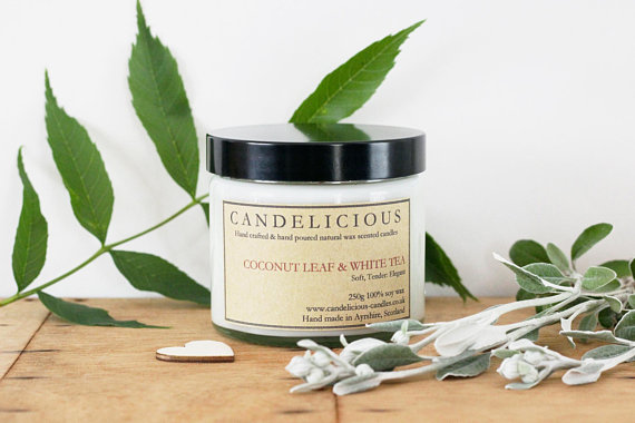 Candelicious Scented Soy Wax Candle