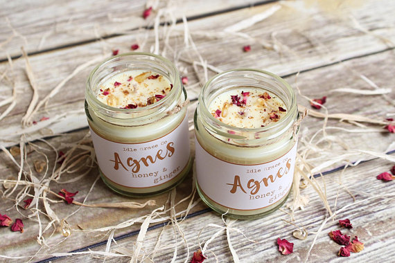 Honey & Ginger Soy Candle