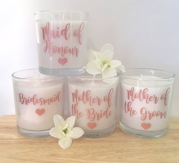 Wedding Party Scented Candle