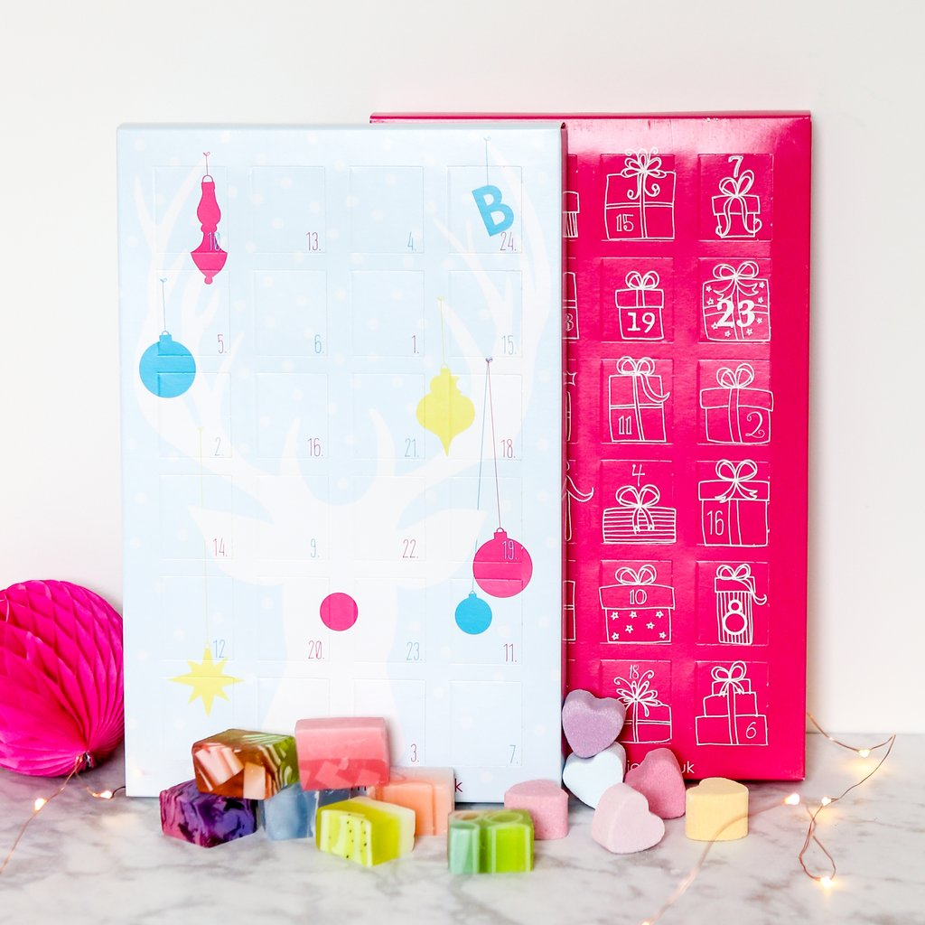 Bath Bomb And Soap Advent Calendar