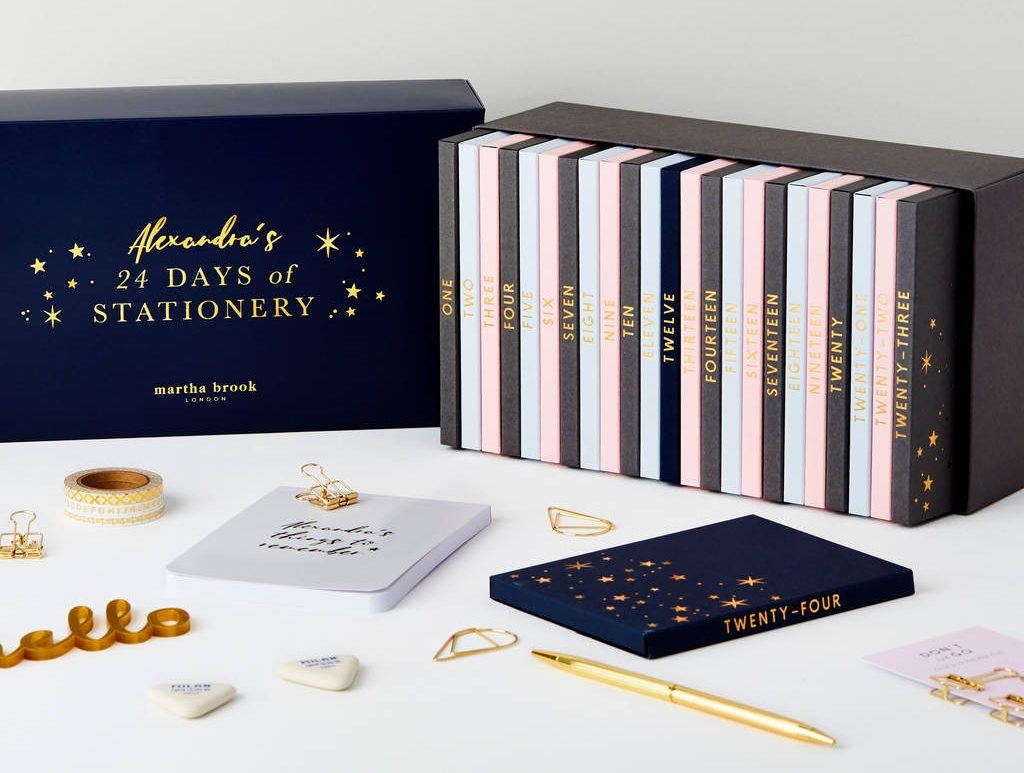 24 Days Of Stationery Advent Calendar