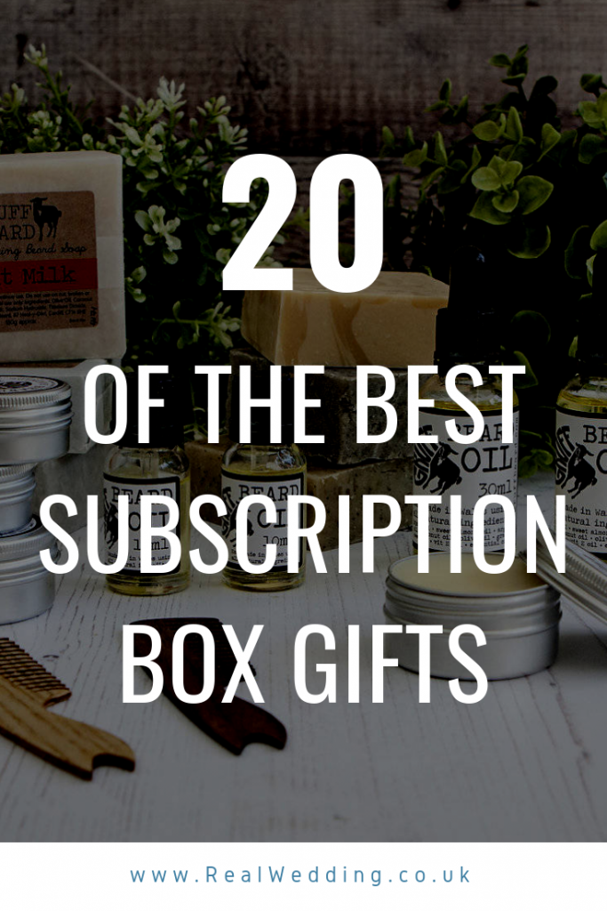 20 Of The Best Subscription Box Gifts For Those Who Have Everything