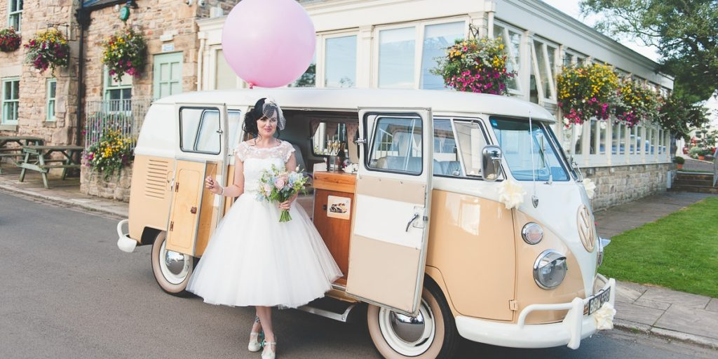 Convert a campervan for your wedding transportation