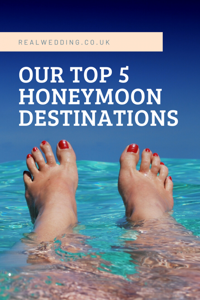 Honeymoon Destinations: Our Top 5 Favourites in 2020