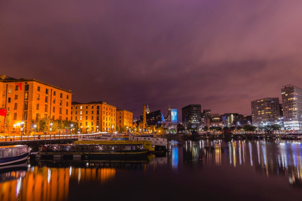 Albert Dock in Liverpool - the best place for a hen do
