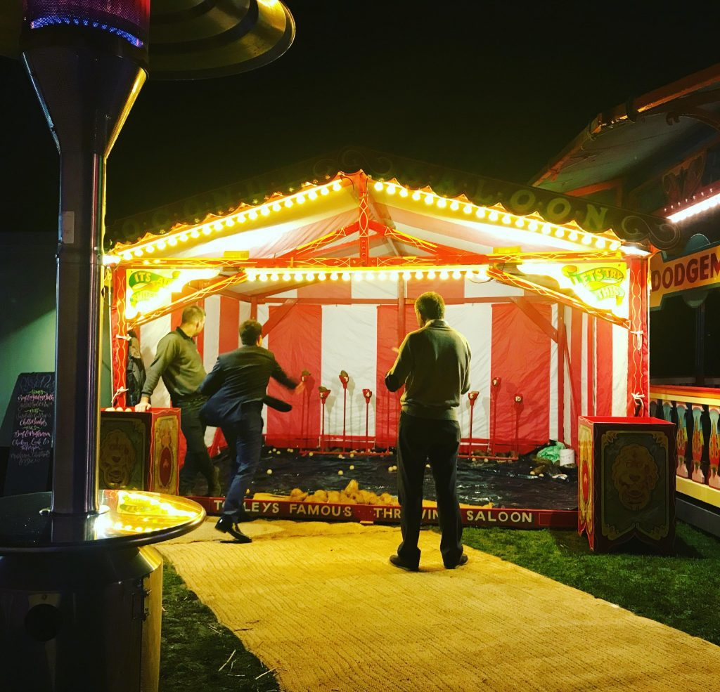 Engage Your Wedding Guests With Traditional Funfair Games - Coconut Shy