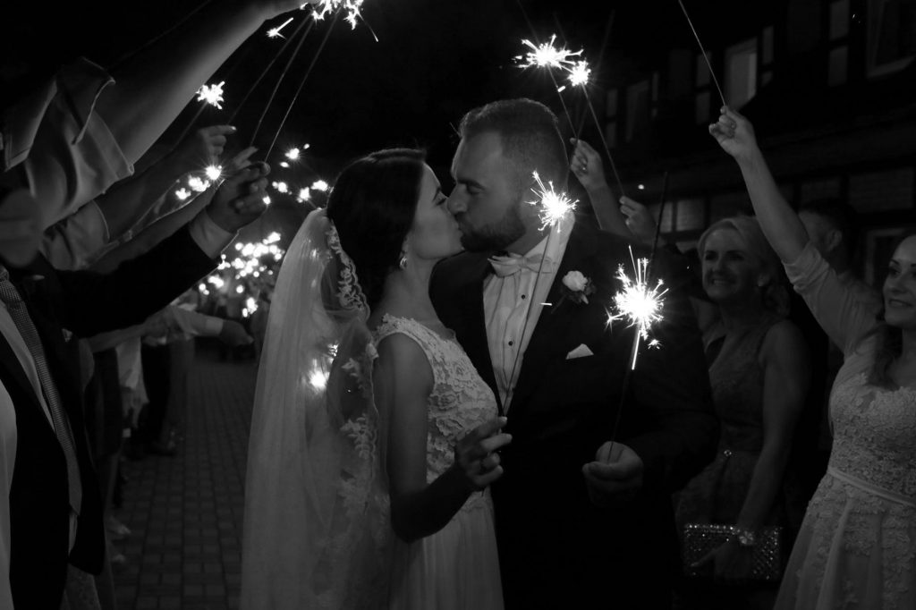 Which Of These Unique Wedding Ideas Will You Incorporate? Sparklers