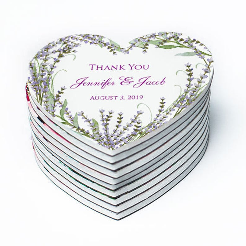 Thank You Magnets | 100 Cheap Wedding Favour Ideas For Under £1 Each! | realwedding.co.uk