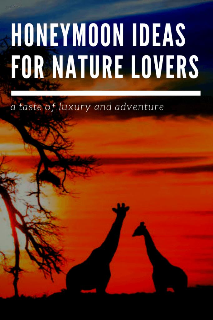 Honeymoon ideas for nature lovers