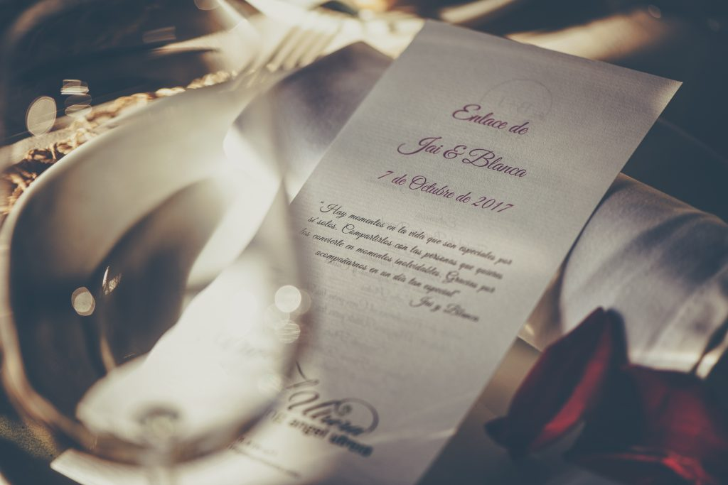 Choosing A Font That Suits Your Wedding Theme