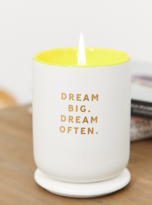 Dream Big Candle Wedding Favour