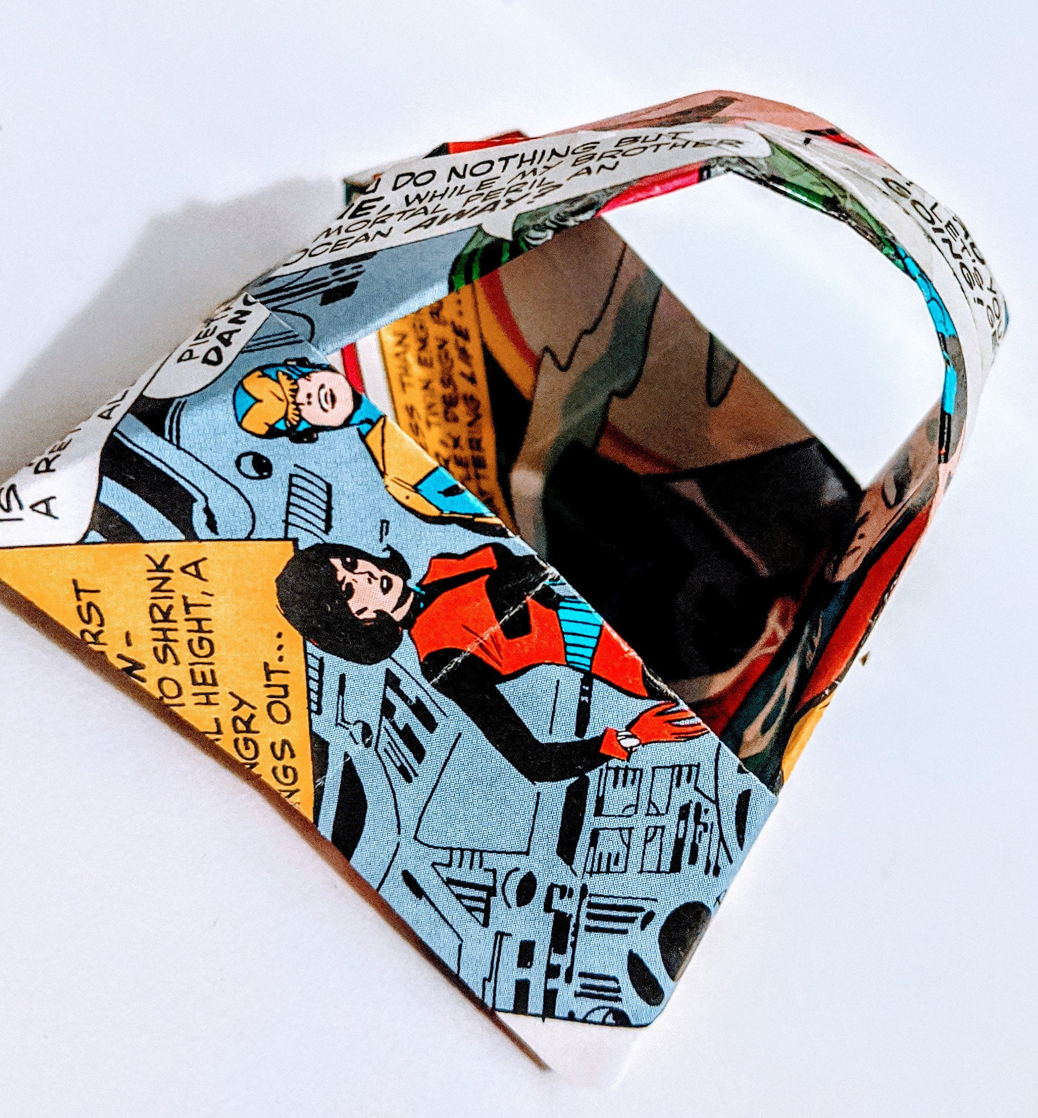 Comic Book 50p Wedding Favour Baskets