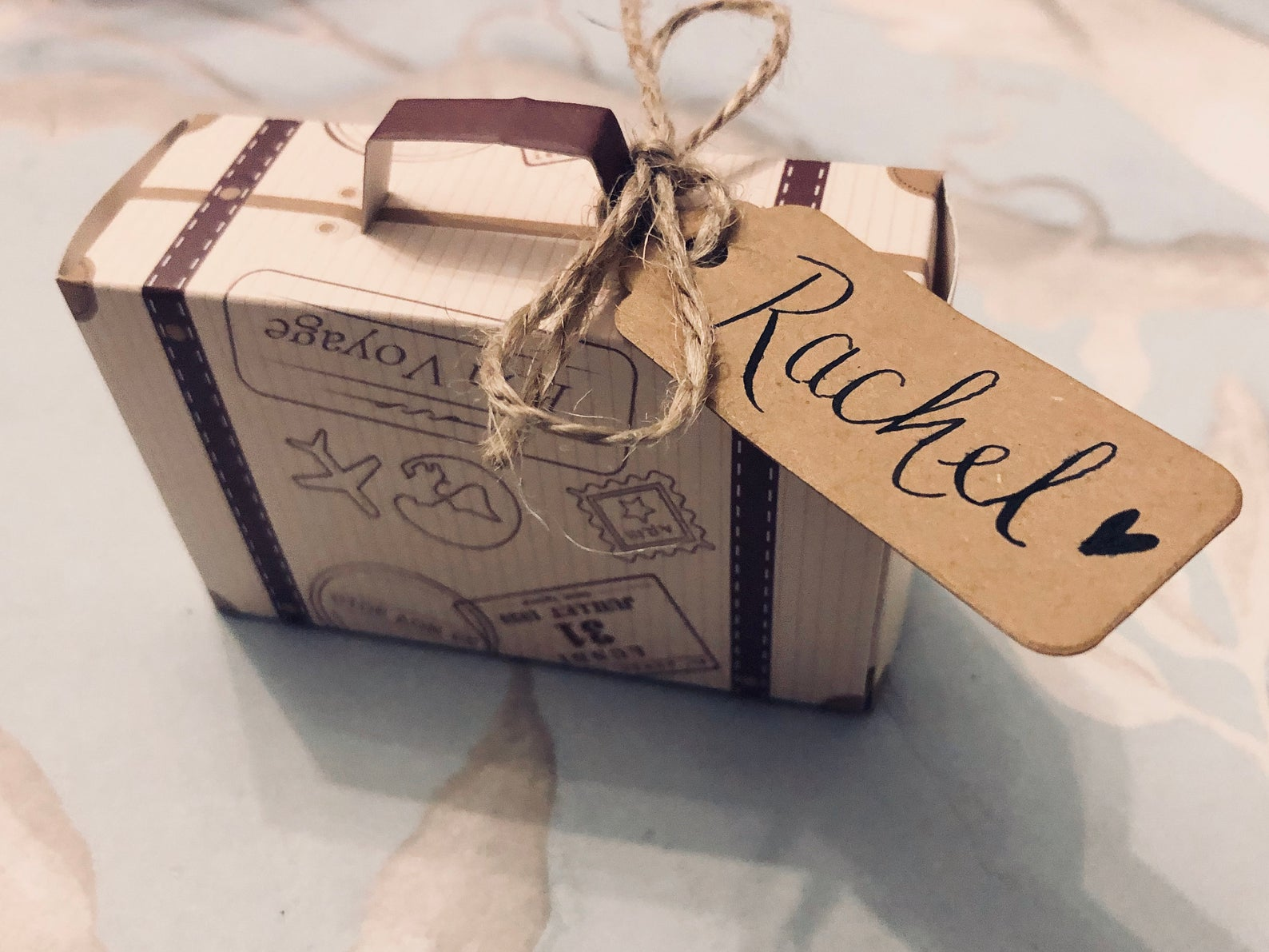 Handwritten Favour Gift Box - Cute Wedding Favours For Just 50p!