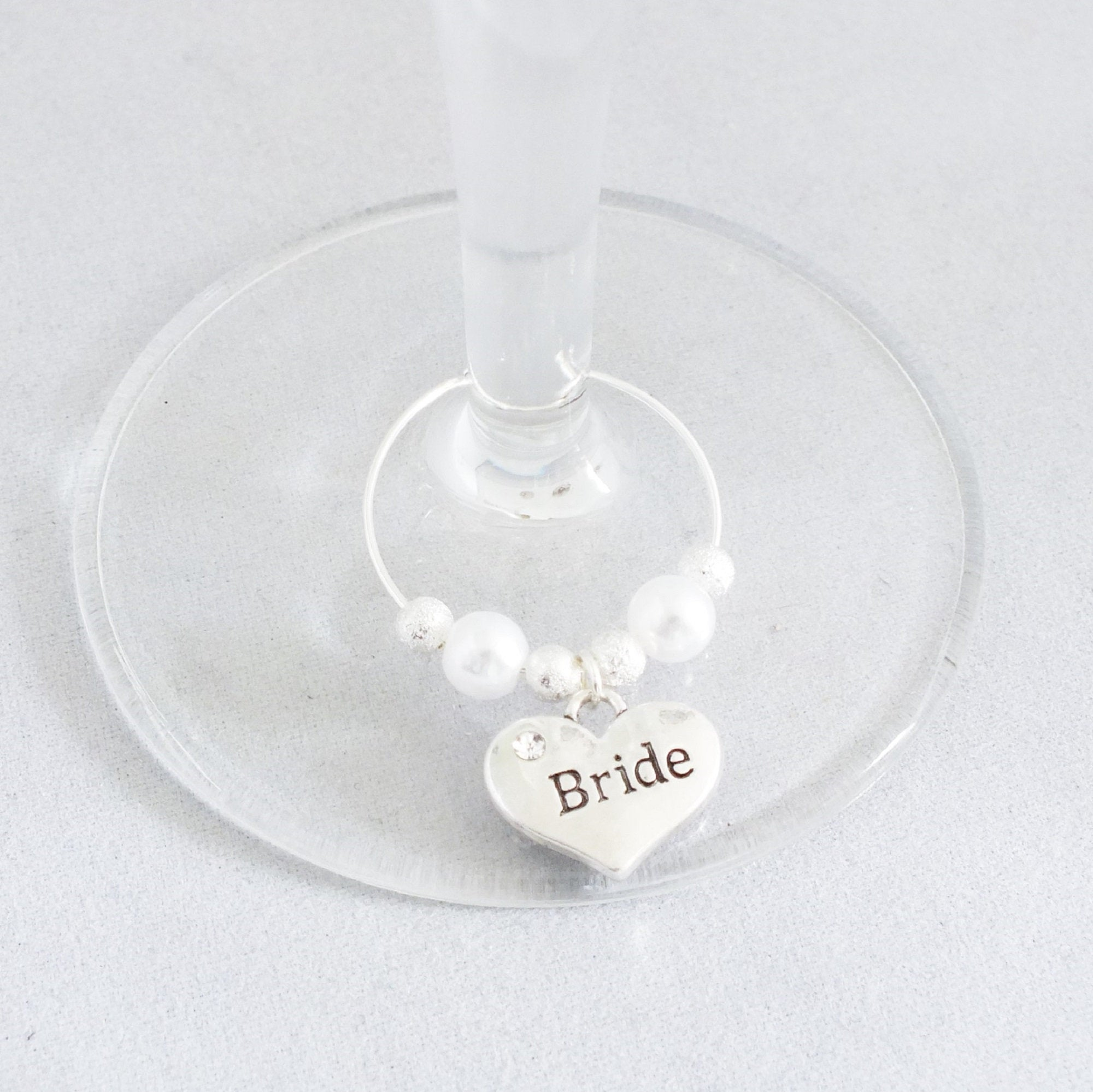 Wine/Champagne Glass Marker Charms