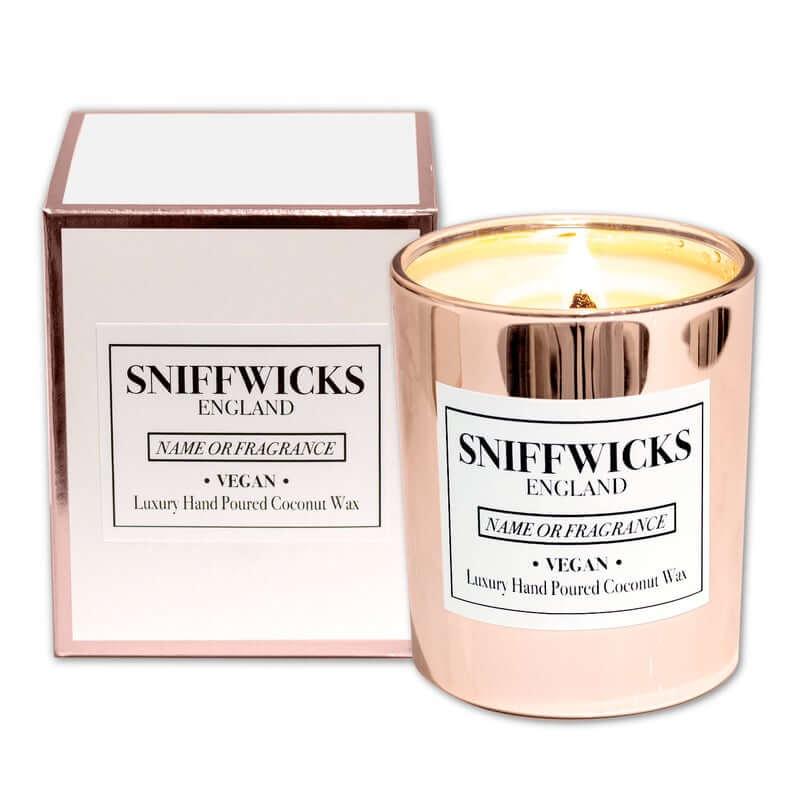 Personalised Luxury Candle Wedding Favour