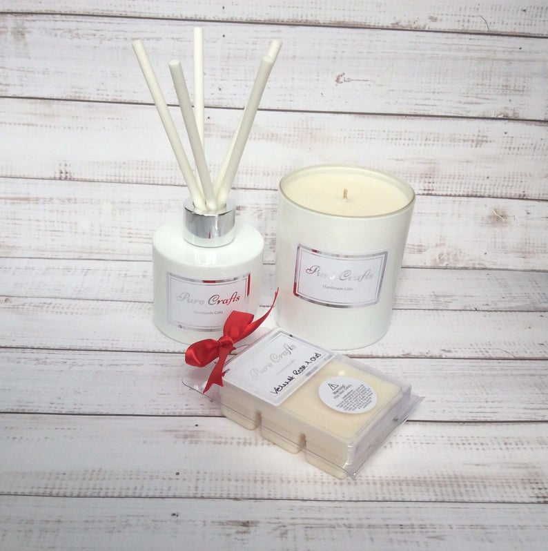 Luxury Soy Wax Scented Candle Gift Set
