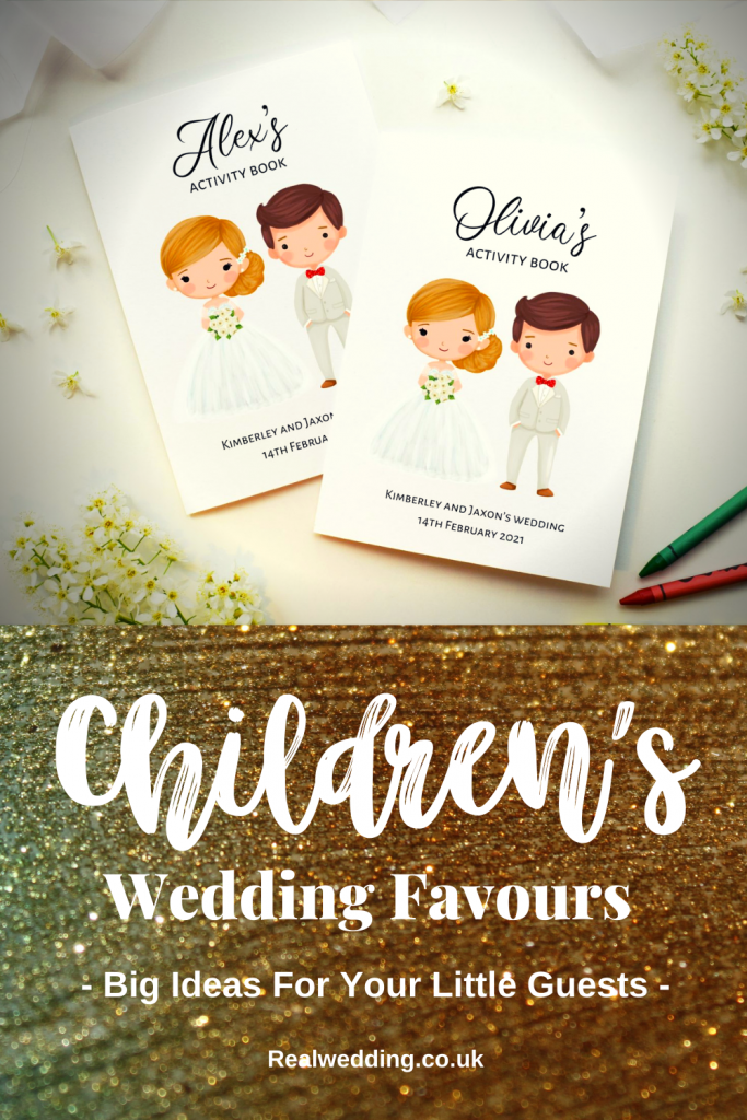 Children's Wedding Favours - Big Ideas For Your Little Guests