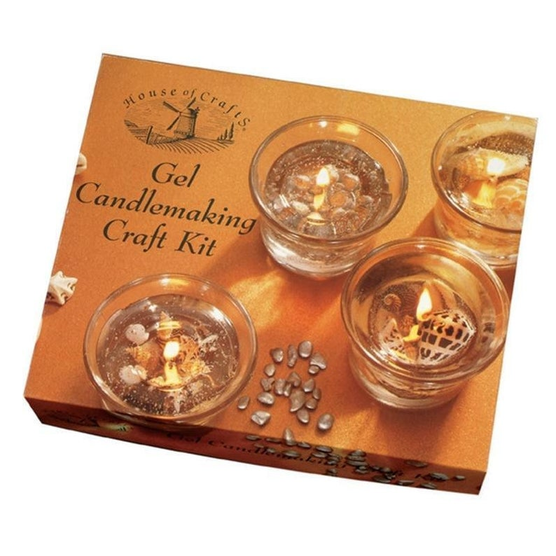 Gel Candle Making Set Craft Kit