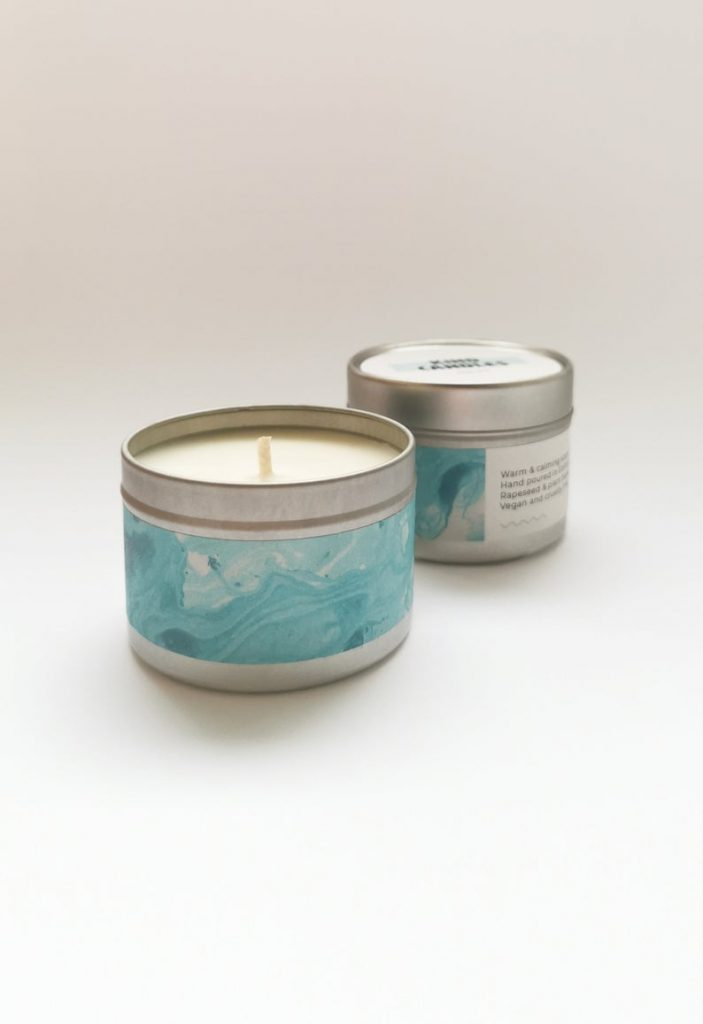 REST Relaxing Cocoa Candle