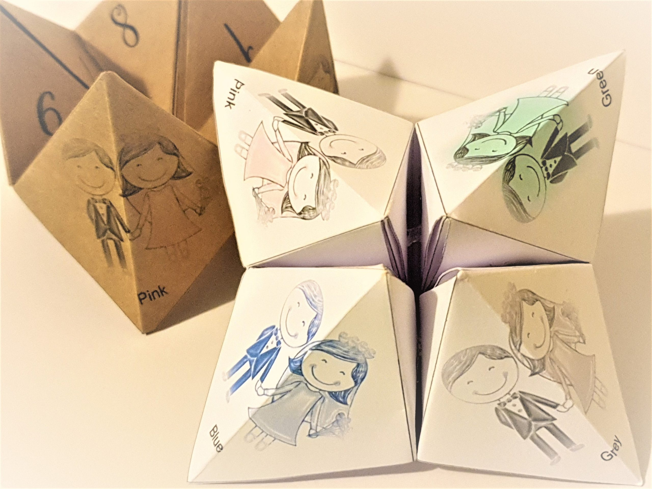 Childrens Wedding Origami Game: Children's Wedding Favours - Big Ideas For Your Little Guests