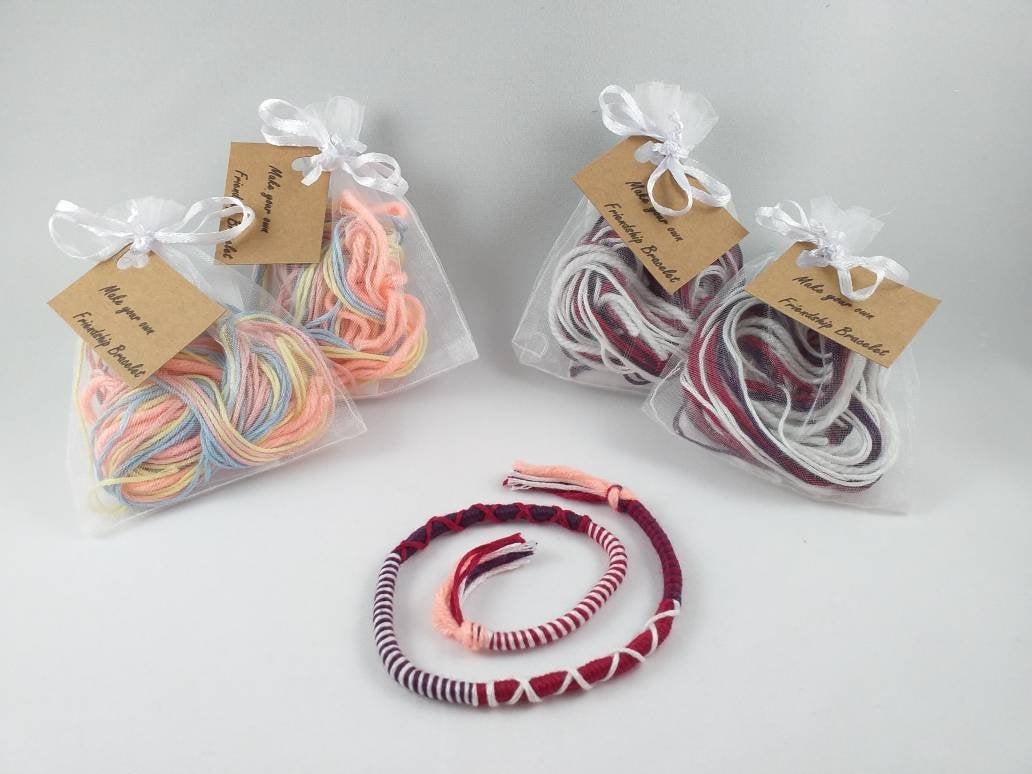 Friendship Bracelet Making Kit: Children's Wedding Favours - Big Ideas For Your Little Guests