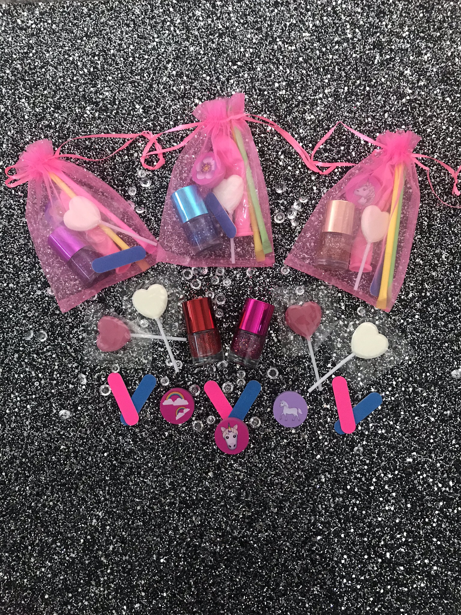 Girls pamper party bags: Children's Wedding Favours - Big Ideas For Your Little Guests