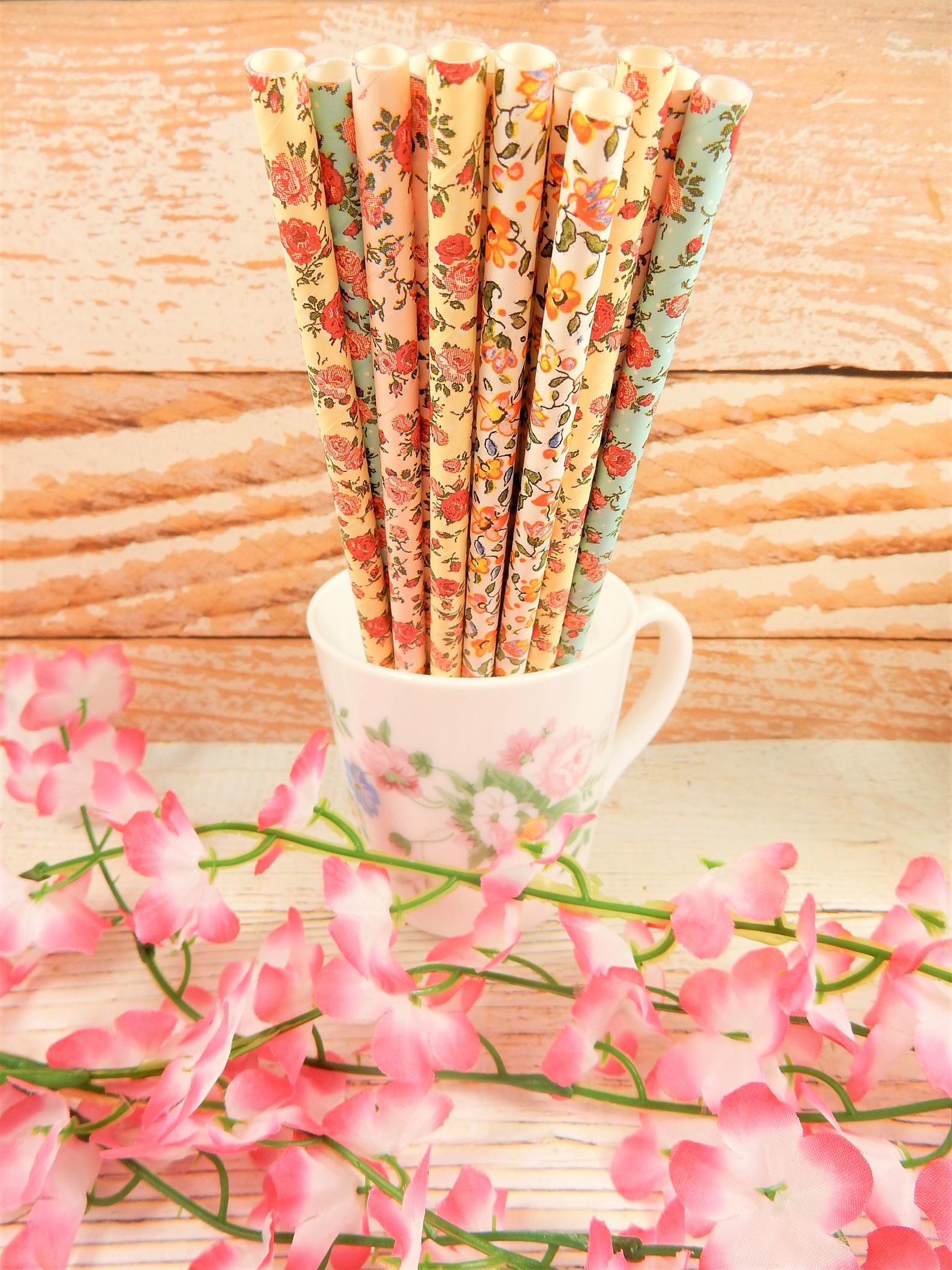 Biodegradable Wedding Straws