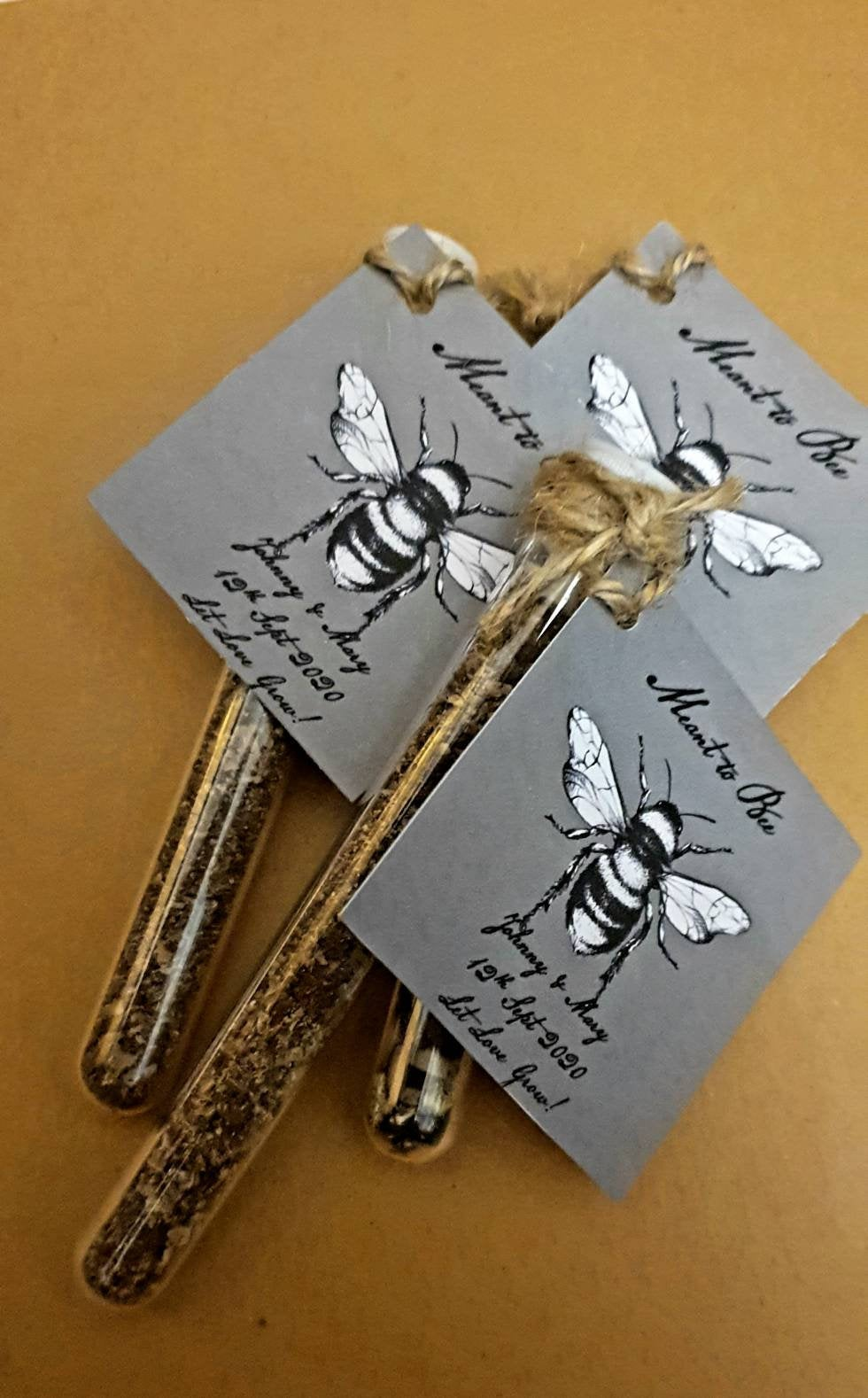 Meant to Bee Eco-Friendly Wedding Favours