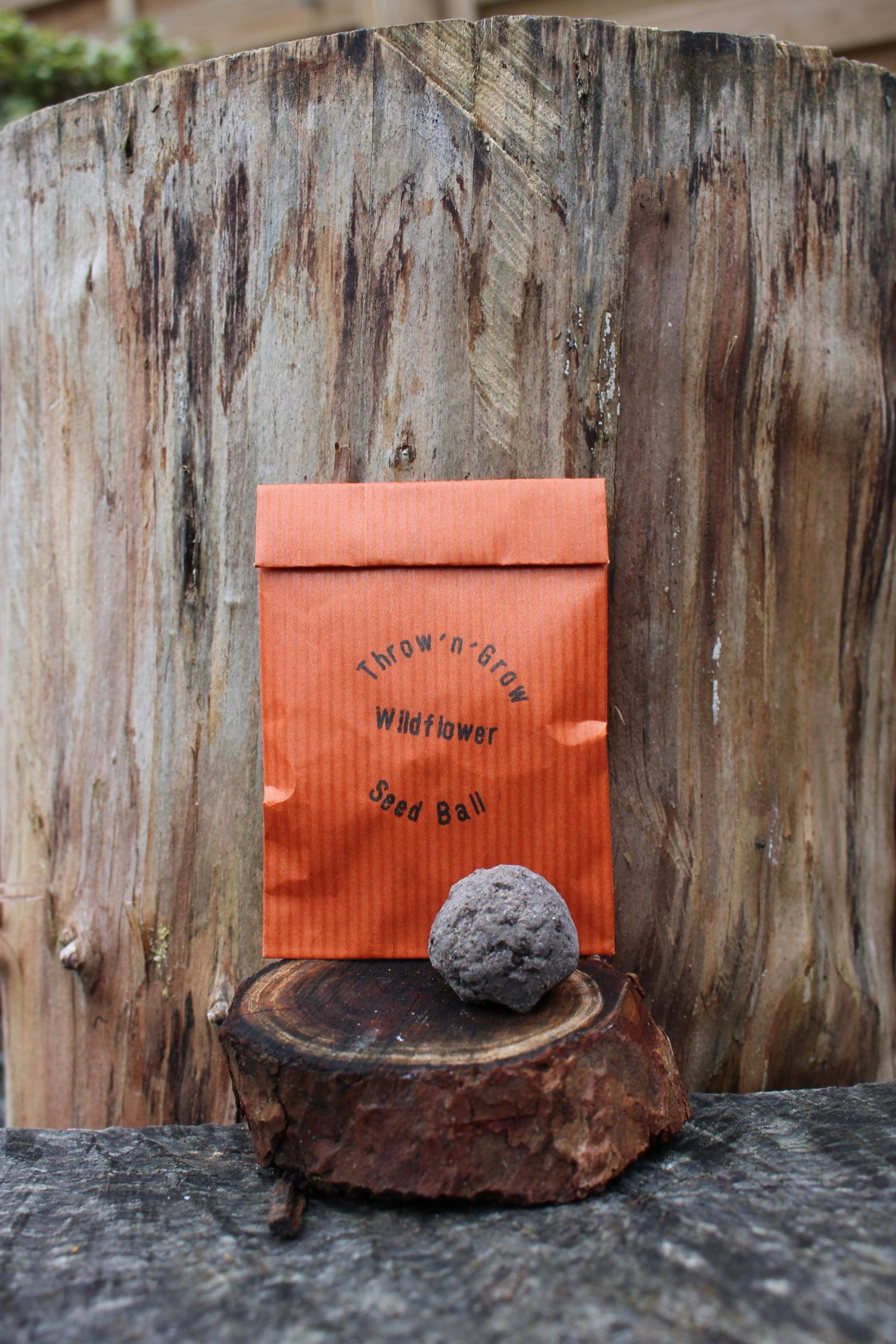 Eco-Friendly Wedding Favours Wildflower Seed Ball