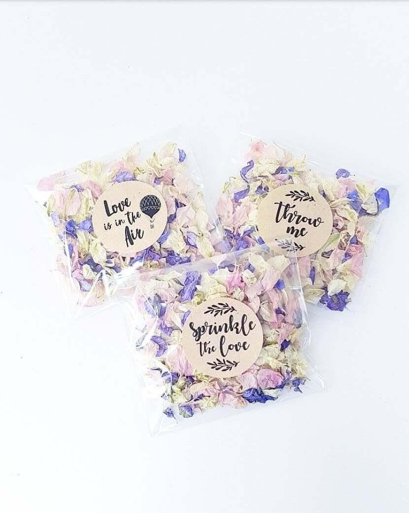 Eco-Friendly Flower biodegradable confetti
