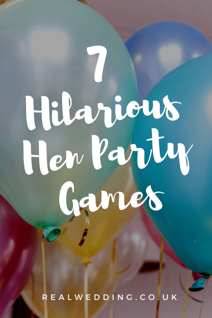 7 Hilarious Hen Party Games