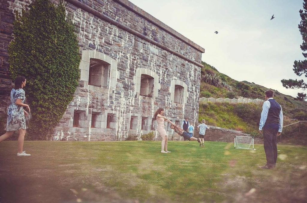 Polhawn Fort Quirky Wedding Venue