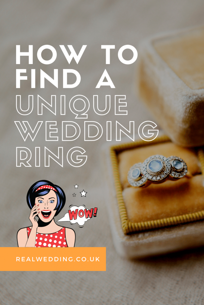 How to find a unique wedding ring